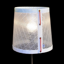 Skagerrak frost table lamp